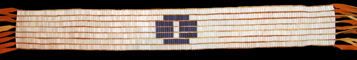 Dish With One Spoon - Wampum Belt